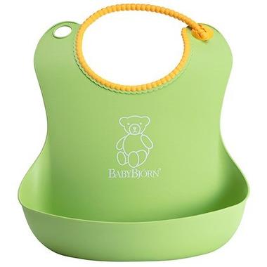 BabyBjorn, Śliniaczek z rynienką zielony