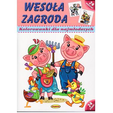 Wesoła zagroda kolorowanki dla najmłodszych wyd. 2
