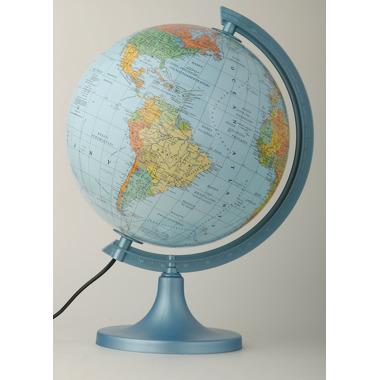 Globus 250 polityczno fizyczny podświetlany