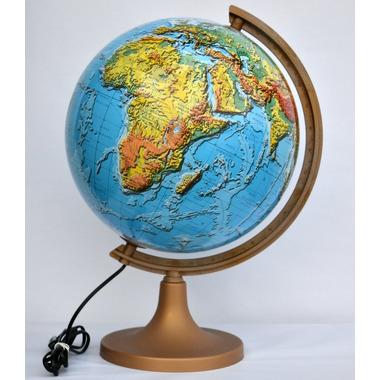 Globus 320 fizyczny 3d podświetlany