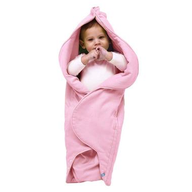 Śpiworek gniazdko Fleur - Różowy