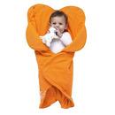 Śpiworek gniazdko Fleur - Pomarańczowy