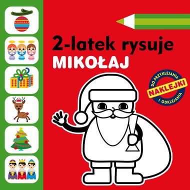 Mikołaj 2-latek rysuje