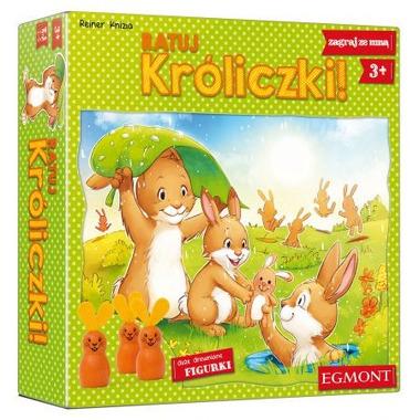 Ratuj króliczki