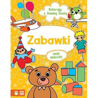 Zabawki koloruję z sówką zuzią + naklejki