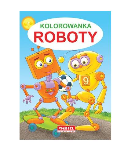 Kolorowanka roboty