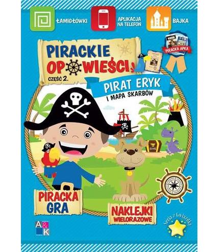 Pirat eryk i mapa skarbów pirackie opowieści część 2