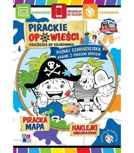 Poznaj czarodziejską krainę z piratem erykiem pirackie opowieści