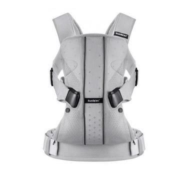 BabyBjorn, nosidełko ergonomiczne ONE Mesh srebrne