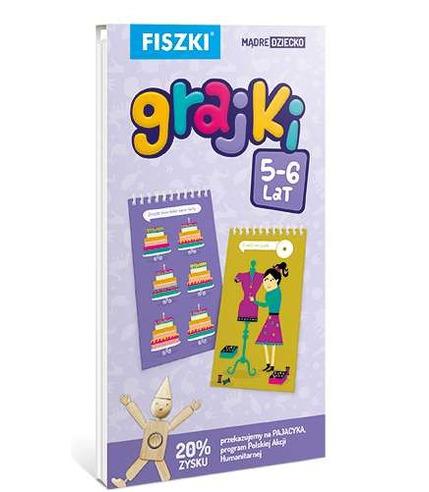 Fiszki grajki 5 - 6 lat