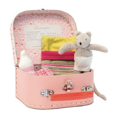 Zestaw dla małej myszki w  walizce