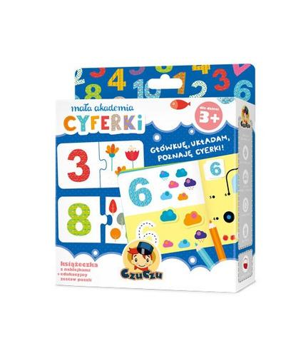 Mała akademia cyferki 3+ czuczu