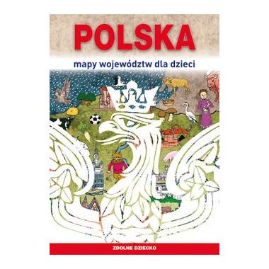 Polska mapy województw dla dzieci zdolne dziecko