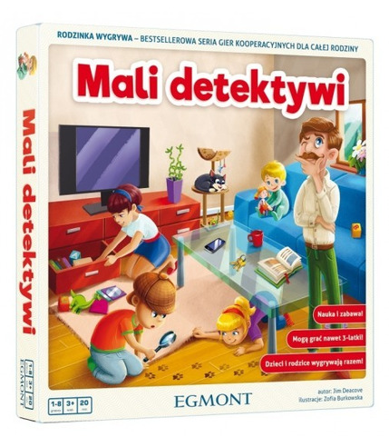 Gra mali detektywi rodzinka wygrywa