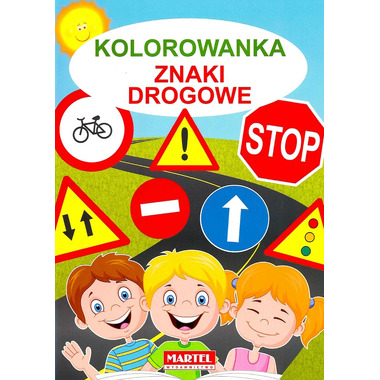 Kolorowanka znaki drogowe