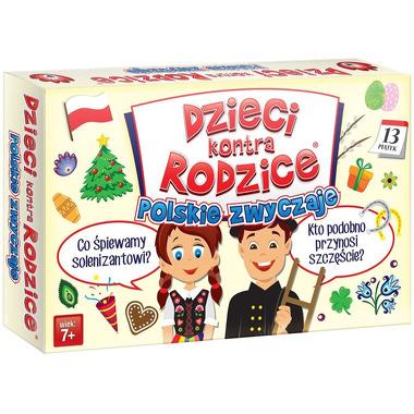 Gra polskie zwyczaje dzieci kontra rodzice