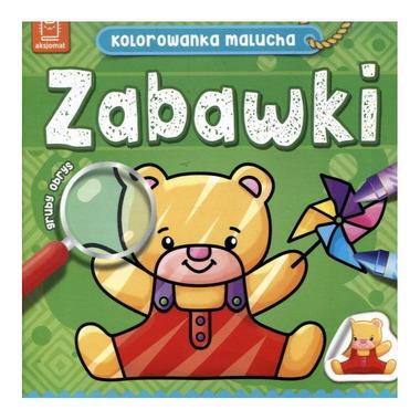 Zabawki kolorowanka malucha