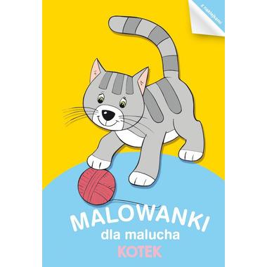 Kotek malowanki dla malucha