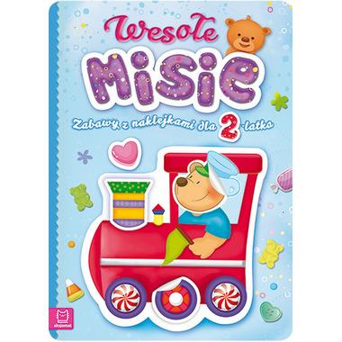 Wesołe misie zabawy z naklejkami dla 2-latka