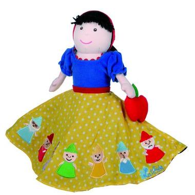 Marionetka 3w1 z bajki o Królewnie Śnieżce