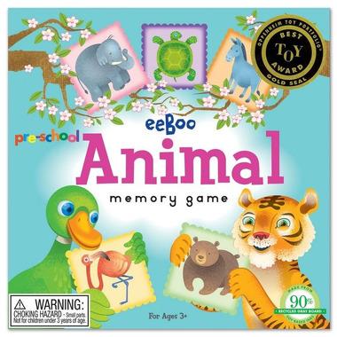 Gra pamięciowa memo - Zwierzęta