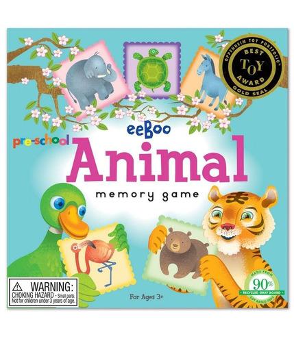 Gra pamięciowa - Zwierzęta