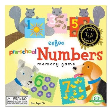 Gra pamięciowa Memo - Liczby