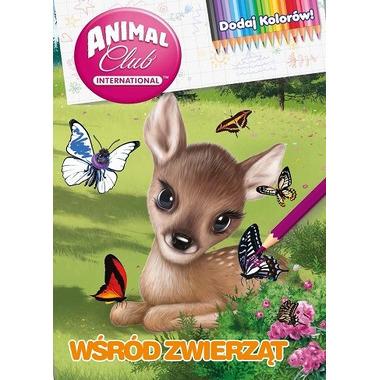 Wśród zwierząt animal club dodaj kolorów