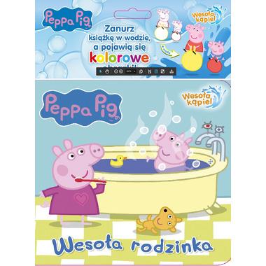 Wesoła rodzinka świnka peppa wesoła kąpiel