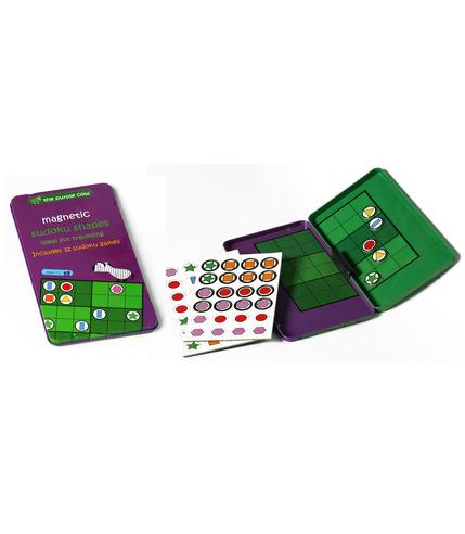 The Purple Cow Gra magnetyczna Sudoku Kształty