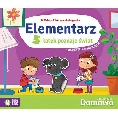 Elementarz 5-latek poznaje świat domowa akademia