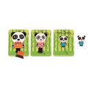Puzzle trzy warstwowe rodzina Pandy Djeco