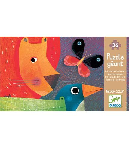 Puzzle - Parada Zwierząt - 133cm długości
