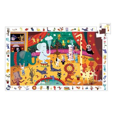 Djeco, cyrk - Puzzle, obserwacja - 35 elementowe