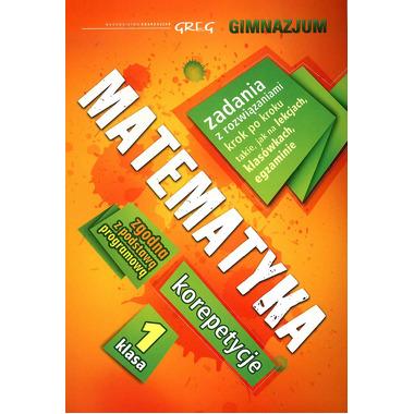 Matematyka korepetycje klasa 1 gimnazjum