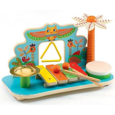 Djeco, zestaw instrumentów - Muzyczna Dżungla