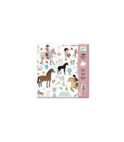 Zestaw naklejek - Konie