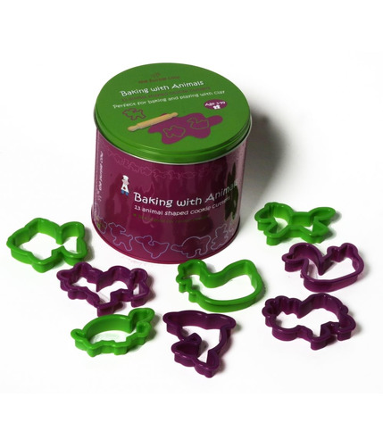 Wykrawaczki do ciastek Zwierzątka - The Purple Cow