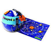 Mapa kosmosu Puzzle 100 el.- The Purple Cow