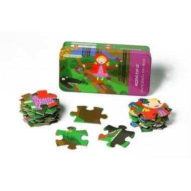 Czerwony Kapturek Puzzle 35 el. - The Purple Cow