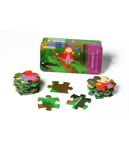 Czerwony Kapturek Puzzle 35 el. - The Purple Cow