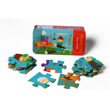 Pinokio Puzzle 24 el. - The Purple Cow