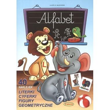 Alfabet 40 naklejek