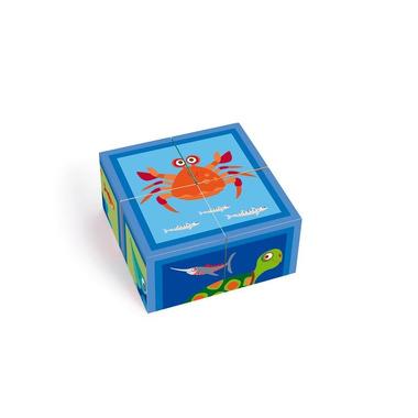Scratch, Puzzle 4 Klocki OCEAN