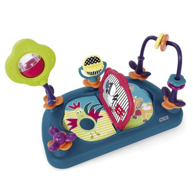 Mamas&Papas, tacka edukacyjna do krzesełka niebieskie Baby Play