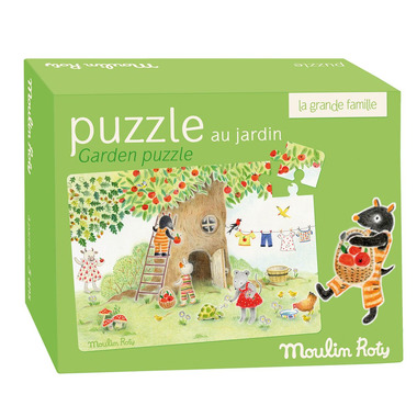 Puzzle Ogród Moulin Roty
