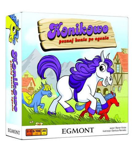 Gra konikowo poznaj konie po ogonie