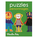 Puzzle Postacie les Popipop Moulin Roty