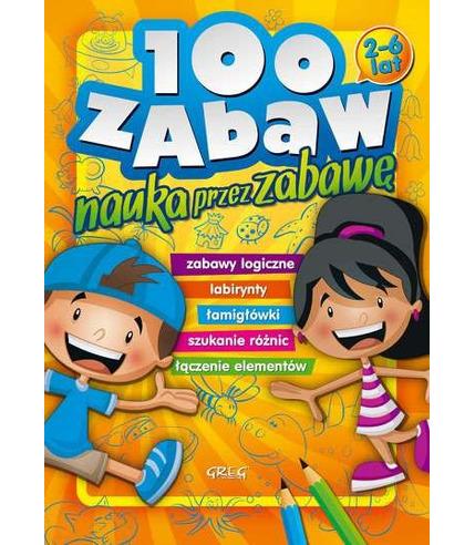 100 zabaw nauka przez zabawę
