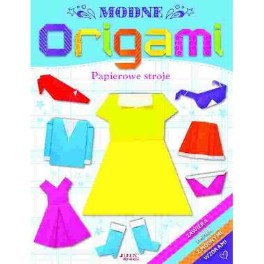 Modne origami papierowe stroje